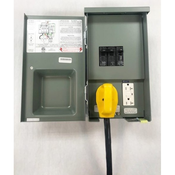 50 Amp RV Panel With 20A GFCI