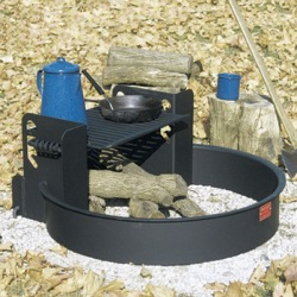 Fire RIng - 32 inch Commercial - Adjustable Platform Grate - Fire Rings