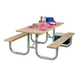 Heavy Duty Picnic Table FRAME ONLY - Welded 6 & 8ft - Picnic Table Frames