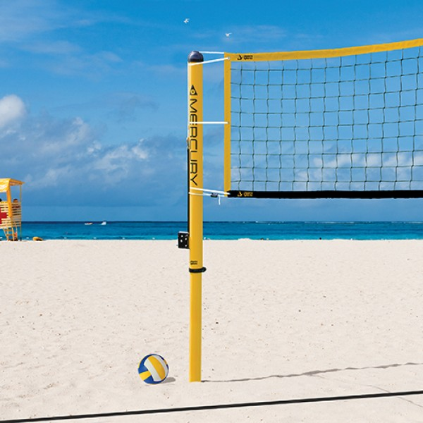 Aluminum Beach Volleyball System - Volleyball