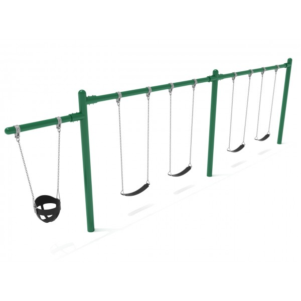 Single Post 2 bay - 1 Cantilever - Swings & Hardware